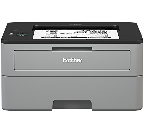 Brother Compact Monochrome Laser Printer, HL-L2350DW, Wireless Printing, Duplex Two-Sided Printing, Amazon Dash Replenishment Enabled (Brother Wireless Laser)