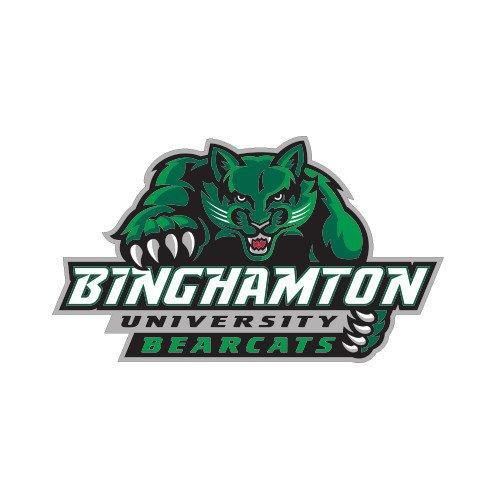 CollegeFanGear Binghamton Small Decal 'Binghamton University Bearcats Official Logo'