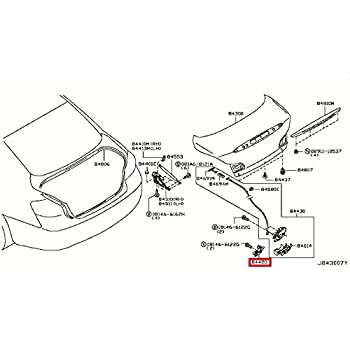 Amazon Com Infiniti Genuine Trunk Lid Fitting Trunk Lid Lock