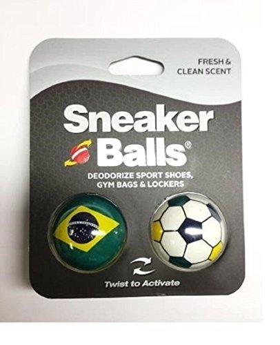 Price comparison product image Sneaker Balls World Cup 2014 Special Edition Shoe/Gym/Sport Freshener Deodorizer (Brasil)
