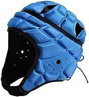 BESPORTBLE Sport Headgear Goalkeeper Soccer Goalie Helmet Head Protector Cap Support for Hockey Football Rugby