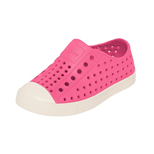 native Kids Shoes Girl's Jefferson (Toddler/Little Kid) Hollywood Pink Sneaker 7 Toddler M by native