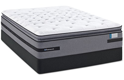 King Sealy Posturepedic Select Yonge Street Plush Euro Pillow Top Mattress Sealy Posturepedic Pillow Top Mattress