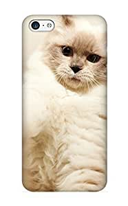 New Snap-on Summerlemond Skin Case Cover Compatible With Iphone 5c- Animal Cat