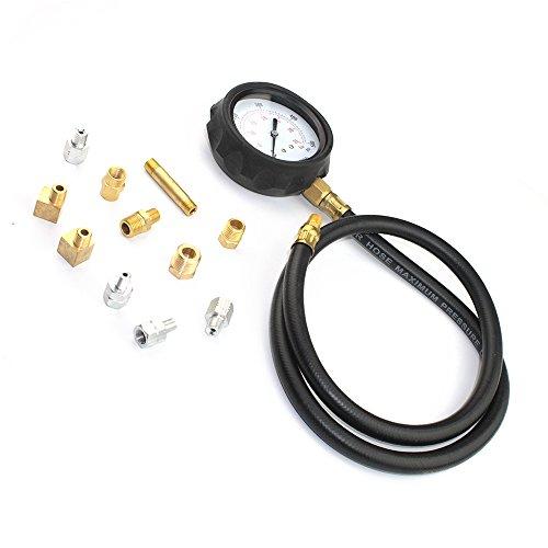 14 piece Engine Oil Pressure Tester Test Gauge Diagnostic Test Tool Set Kit by Jecr (Image #1)