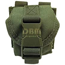 OD GREEN Tactical M67 One Single Frag Hand Grenade Pouch Molle Pals Bag Holds 1