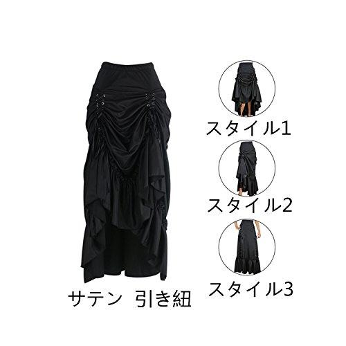 Burvogue - Falda - para mujer Black1