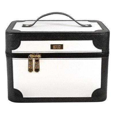 SOHO Slide & Store Case Black & White Black