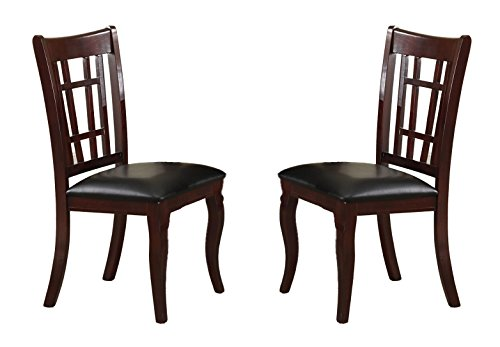 Milton Greens Stars 8738CH Granada Dining Chair, Cherry, Set of 2