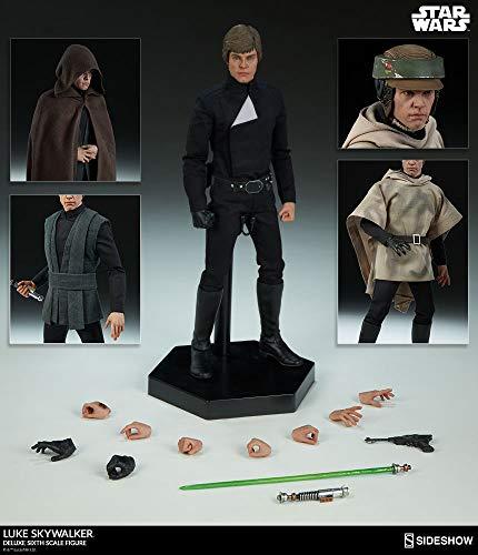 Sideshow Luke Skywalker Deluxe 1/6 Star Wars Figure ROTJ ()