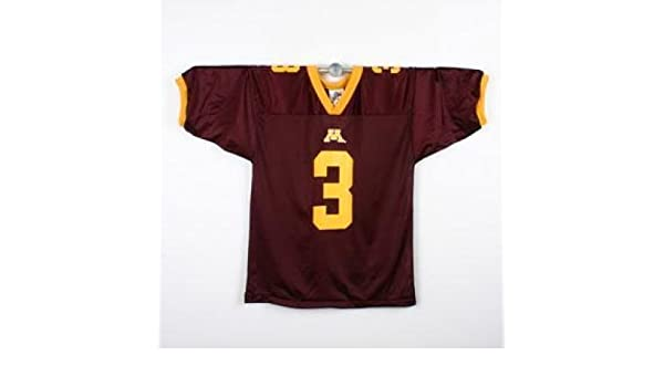 1afbaa624 Amazon.com   IZAW Minnesota Golden Gophers Football Jersey - Youth - XL  (18-20)   Sports Fan Jerseys   Sports   Outdoors