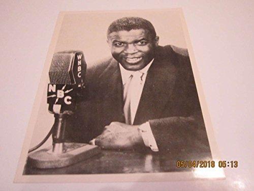 1950 Postcard - 1950's Jackie Robinson NBC Jumbo Postcard 6