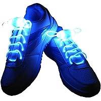 JERN Light up LED Luminous Shoelaces Flash Party Skating Glowing Shoe Laces