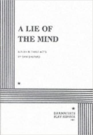 A Lie Of The Mind Sam Shepard Sam Shepard 9780822206569
