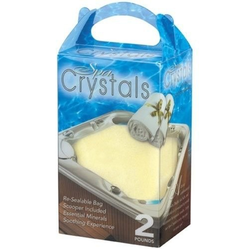 Cover Valet 850511004574 Spa Crystals, Vanilla, 2 lb ()