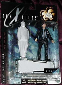 X FILES AGENT FOX MULDER ACTION FIGURE