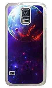 Star Wars Fiction Planet Clear Hard Case Cover Skin For Samsung Galaxy S5 I9600 by icecream design
