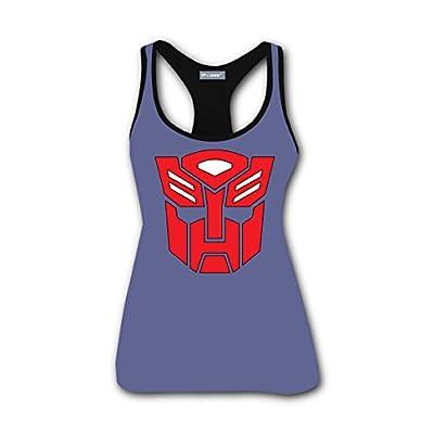 Custom Transformer Logo Women Scoop-Neck Tank Top Tees Tanks Camis