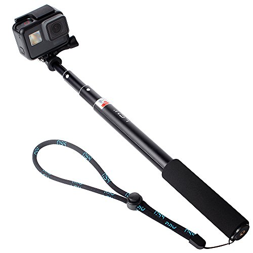 HSU Selfie Stick Prueba de Agua con Tripie y Soporte para Celular; Compatible con Samsung, iPhone, Cámaras Deportivas GO...