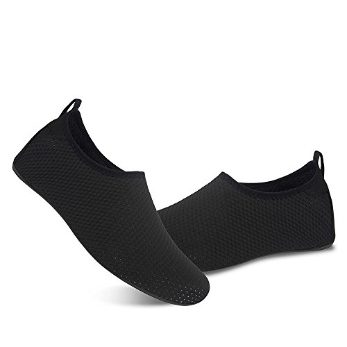 Mens Black Womens Water Yoga Exercise Spots Summer Dry Shoes Swim Aqua Socks for Shoes for Barefoot and Beach Quick FEEwIqT