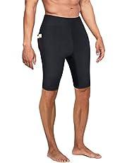 Bingrong Pantalones Cortos para Adelgazar Hombre Pantalón de Sudoración Adelgazar Pantalones de Neopreno para Ejercicio para Pérdida de Peso Deportivo