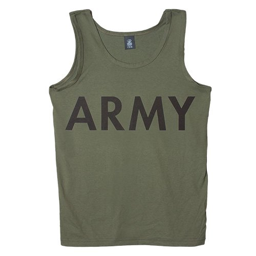 Fox Outdoor Products Military Branch Imprinted Tank Top, Camo, Medium