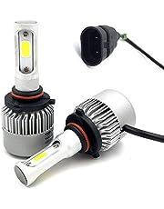 لمبات LED لمصابيح السيارة الامامية مقاس (hb3/9005) بقوة 8000 لومينز