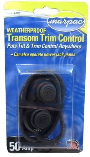 (NEW MARPAC MARINE BOAT TRANSOM TRIM SWITCH 7-1165)