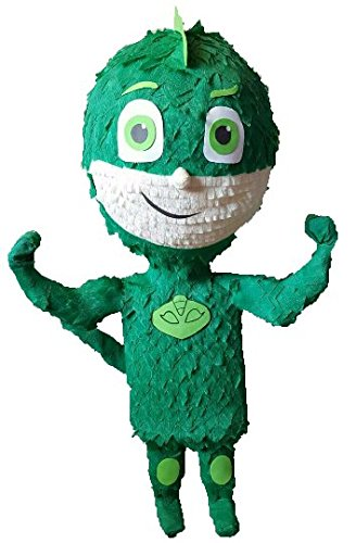 Gekko Pinata inspired by PJ Mask by Pinatas USA