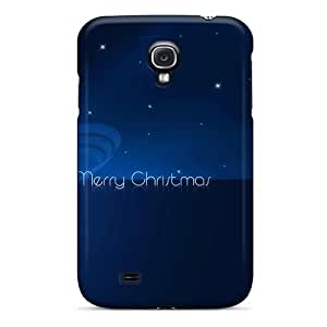 Series Skin Case Cover For Galaxy S4(vector Drawing Merry Christmas)