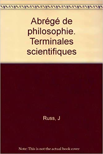 Telechargement De Livres En Espagnol Abrege De Philosophie