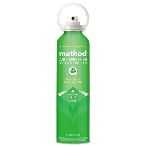 Method 01419 Air Refresher Fresh Clover 6.9 oz Aerosol 6/Carton