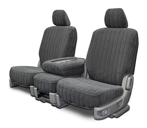 Custom Seat Covers - Dodge Ram 40-20-40 Style - Charcoal Madrid Fabric