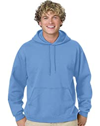Hanes mens 7.8 oz. ComfortBlend EcoSmart 50/50 Pullover Hood(P170)-Charcoal Heather-3XL