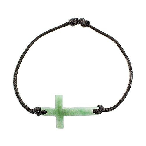 NOVICA Jade Pendant Bracelet, 6