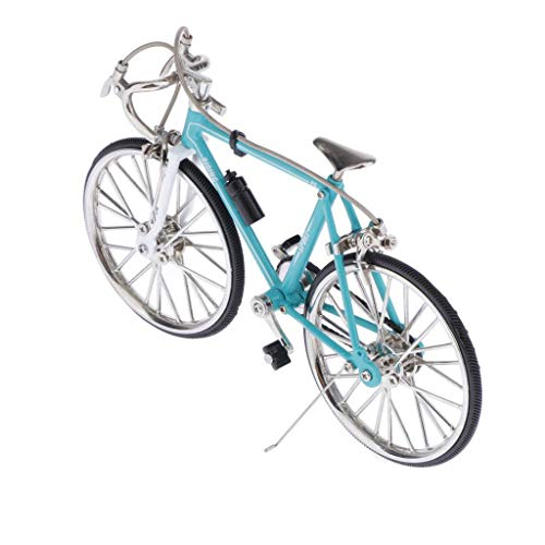 [해외]CUTICATE 1:10 High Artificial Zinc Alloy Racing Exquisite Bike Bicycle Model Miniature Metal Toy (Sky Blue A) / CUTICATE 1:10 High Artificial Zinc Alloy Racing Exquisite Bike Bicycle Model Miniature Metal Toy (Sky Blue A)