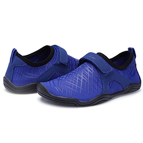 Pictures of BTDREAM Boy and Girl's Athletic Water Dark Blue US Little Kid 10.5 2