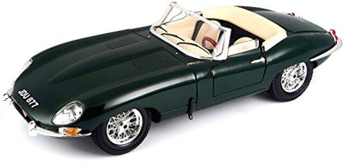 - Bburago Jaguar E Cabriolet 1961 1:18 Scale (Grey)