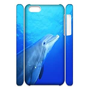 C-Y-F-CASE DIY Dolphin Pattern Phone Case For iPhone 5C