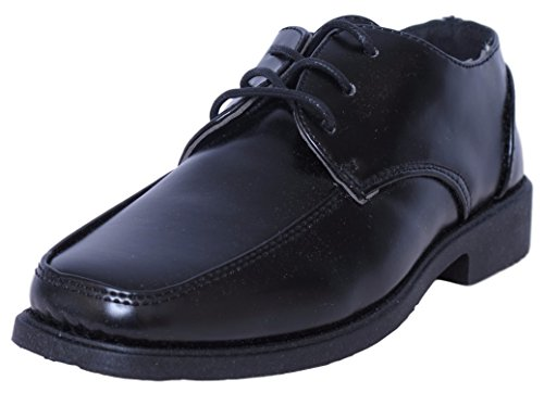 - Josmo Boys Lace-Up Dress Shoes, Black Size 7'