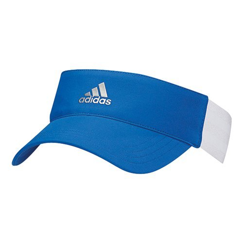 adidas Womens 3-Stripe Visor Black/White One Size Fits Most by adidas