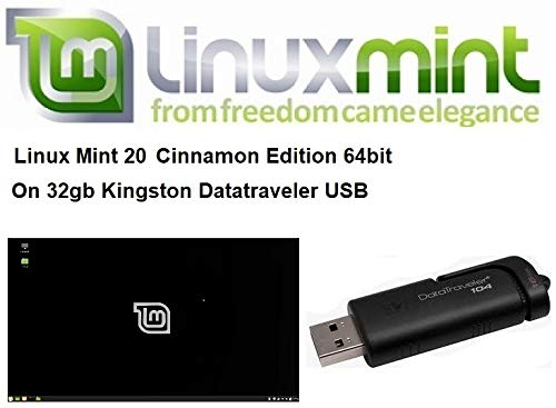 Linux Mint 20 Laatste versie voor 2021 op Kingston USB van 32 GB
