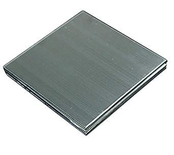 Amazon.com: Hoja de placa de acero inoxidable pulido de ...