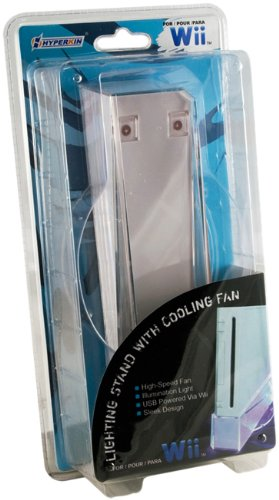 Wii System Lighting Stand with Cooling Fan
