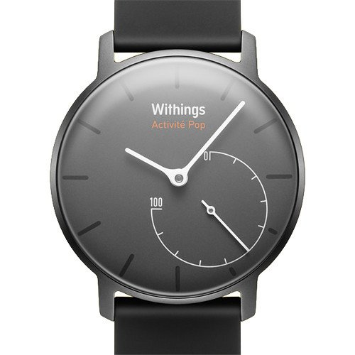 Withings Activite Pop Activity and Fitness Tracker + Sleep Monitor Lightweight Watch, Shark Gray (Certified Refurbished) by Withings (Image #1)