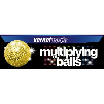 Multiplying Balls (GOLD) by Vernet - Trick by Vernet Magic
