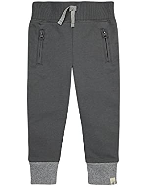 Baby Boys' Organic Zipper Pocket Pant