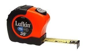Lufkin PS3435 1-Inch x 35 Pro Series Power Return Tape Measure
