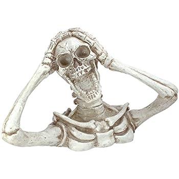 Design Toscano Shriek The Skeleton Statue: Large - Zombie Statue - Halloween Prop