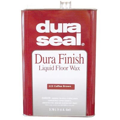 Dura Seal Durafinish Liquid Floor Wax - Coffee Brown - Gallon